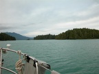 Look around Barkley Sound on the way in - no other boats to be seen