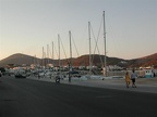 The quay wall at Patmos where we were stuck for 3 days in a windstorm