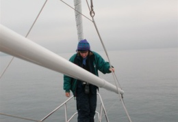 Carol Hasse - the worlds greatest sailmaker