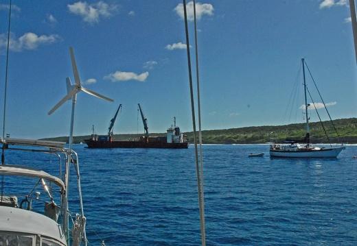 We were leaving Niue anyway…