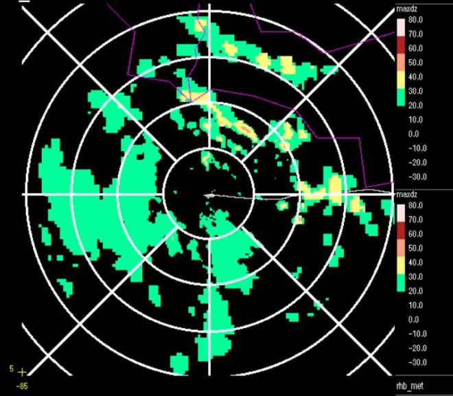 In the Middle of the ITCZ